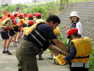 水難事故防止のためライフジャケットの着用を徹底