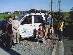 バク号がやってきた2004年当時の写真