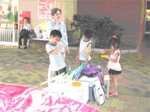 7月2日(土) トレッサ横浜で移動水族館と防災グッズ展示