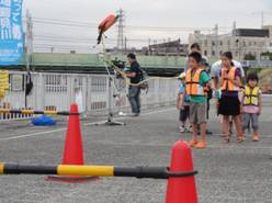 8月20日(土) 「鶴見川サマーフェスティバル」で「鶴見川アピール」を行いました