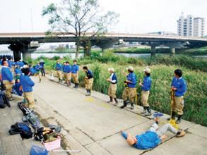 10月14日(金)東京環境工科専門学校の鶴見川実習
