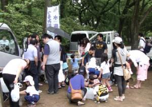 6/2 綱島公園移動動物園&水族館