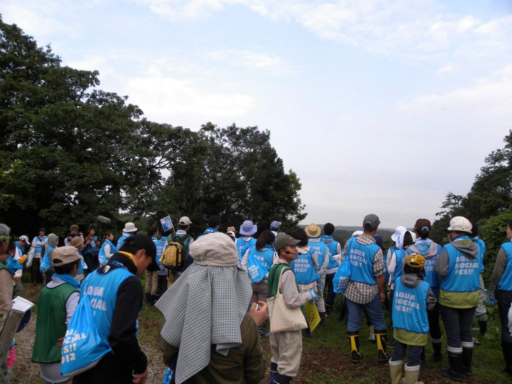 AQUA SOCIAL FES!! 2012 PROGRAM17 みんなの鶴見川流域プロジェクト 第4回 初夏の源流保水の森でアレチウリ退治とホタル観察会