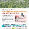 【イベント情報】 鶴見川多目的遊水地 オギの観察会と魔女のホウキ作り