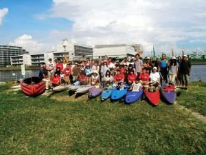 9/8(土) HSBC香港上海銀行 環境活動支援 「Green is Good 水辺の環境再発見!! わんぱく水辺体験会」