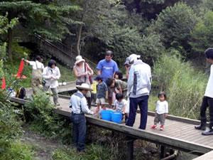 9/18(土)宮前美しの森公園ホトケドジョウ観察会
