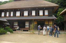 横溝屋敷を訪問